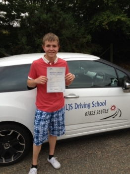 Well done to Aaron Peek for Passing your Practical Driving Test A First Time Pass <br />