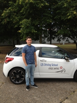 Well done Tom for Passing your Driving Test today 19th September a Great Drive :-